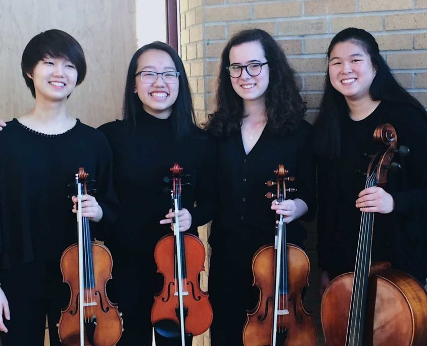 Oberg Quartet RAHS Orchestra